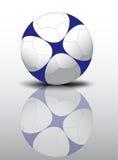 Football or soccer ball Stock Photography