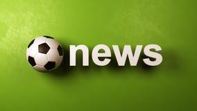 Soccer News stock illustration