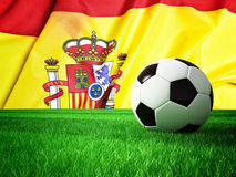 Soccer ball spain Stock Photography