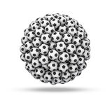 Soccer ball sphere Royalty Free Stock Photos