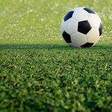 Soccer ball sport game Royalty Free Stock Photos