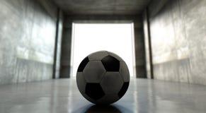 Soccer Ball Sports Stadium Tunnel Stock Photos