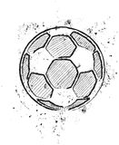 A soccer ball Stock Photography