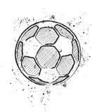 A soccer ball. Stylized, vector illustration Stock Photography