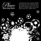 Soccer Ball theme Royalty Free Stock Photo