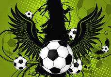 Soccer Ball theme Royalty Free Stock Photography