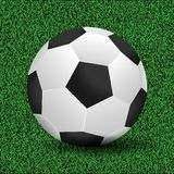 Soccer ball vector illustration Stock Images