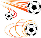 Soccer ball. Vector illustration of soccer ball royalty free illustration