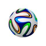Soccer ball 2014, vector illustration. Soccer ball 2014, vector eps10 Stock Photo