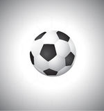 Soccer ball vector Royalty Free Stock Images