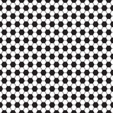 Soccer ball vector seamless pattern, texture. Royalty Free Stock Photography