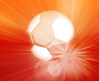 Soccer ball wallpaper Stock Image