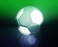 Soccer ball wallpaper Royalty Free Stock Image