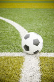 Soccer ball and water bottle Royalty Free Stock Image