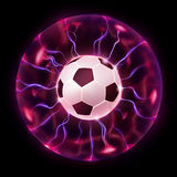 Soccer Ball Wheel Stock Images