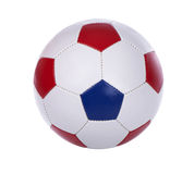 Soccer ball on a white Royalty Free Stock Photos