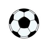 Soccer ball. On white background Stock Image