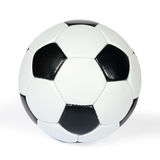 Soccer ball on a white background. (isolated) Stock Photography