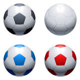 Soccer balls. Royalty Free Stock Image