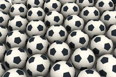 Soccer balls Royalty Free Stock Photography
