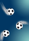 Soccer-balls Stock Photography