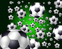 Soccer balls Royalty Free Stock Image