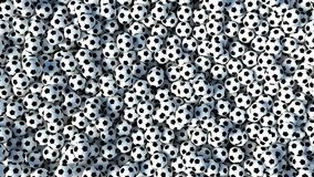 Soccer Balls background Royalty Free Stock Image