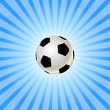 Soccer balls icon Stock Photos