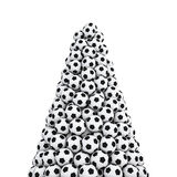 Soccer balls peak Stock Images