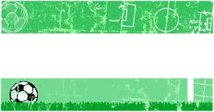 Soccer banner Stock Photo