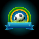 Soccer Banner Stock Photography
