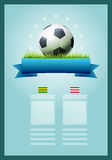 Soccer Banner Stock Photo