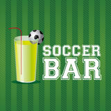 Soccer bar Royalty Free Stock Images