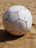 Soccer beach ball Royalty Free Stock Photo