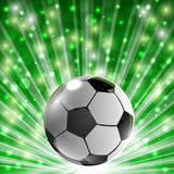 Soccer blast Royalty Free Stock Photos