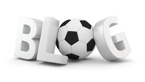 Soccer Blog Royalty Free Stock Photos