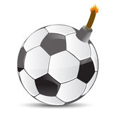 Soccer Bomb Stock Photo
