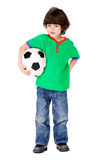Soccer boy Stock Images