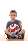 Soccer boy Royalty Free Stock Images