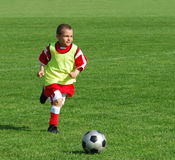 Soccer boy Stock Photos