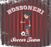 Soccer boy cartoon Royalty Free Stock Photography
