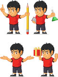 Soccer Boy Customizable Mascot 8 Stock Photos