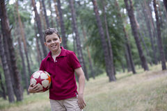 Soccer boy Royalty Free Stock Photos