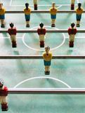 Soccer Brazil Tabletop Foosball football Stock Photos