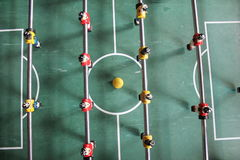 Soccer Brazil Tabletop Foosball football Royalty Free Stock Images