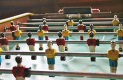 Soccer Brazil Tabletop Foosball football Stock Photography