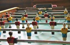Soccer Brazil Tabletop Foosball football Stock Photography