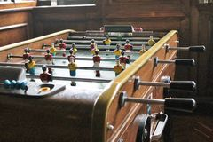 Soccer Brazil Tabletop Foosball football Royalty Free Stock Photography