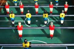 Soccer Brazil Tabletop Foosball football Stock Photo