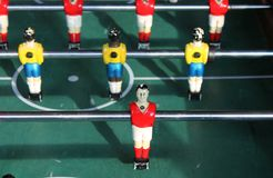 Soccer Brazil Tabletop Foosball football Royalty Free Stock Photos
